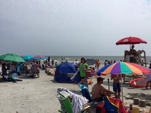 Labor Day Weekend on Coligny Beach