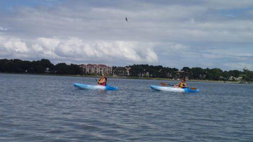Kayaking Skull Creek, Hilton Head Island