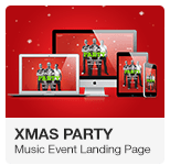 Xmas - Christmas New Year Party Adobe Muse Template