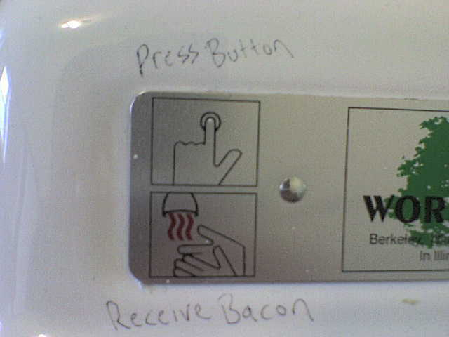 Receive Bacon