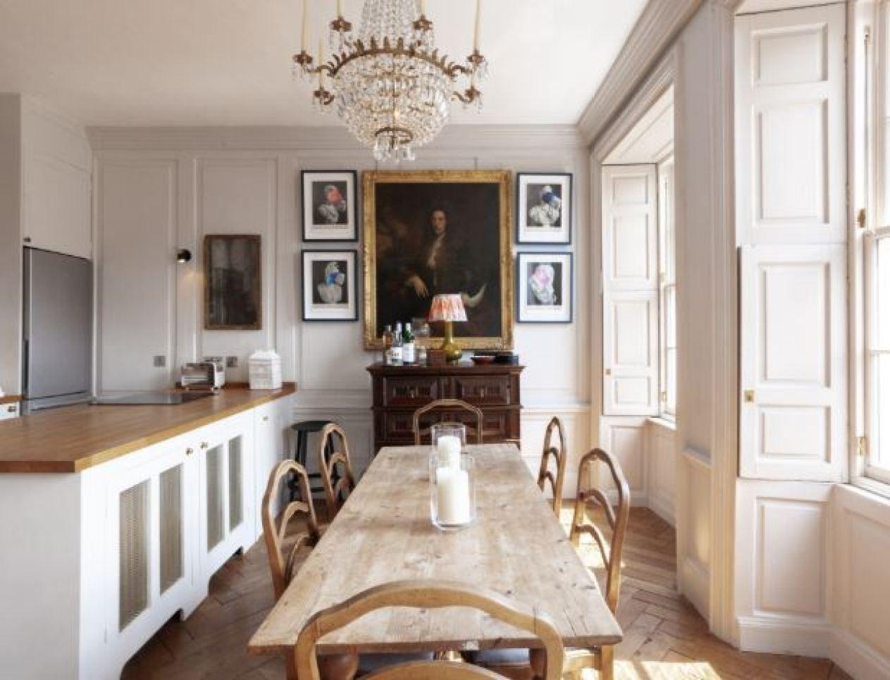Georgian inspired  dining room