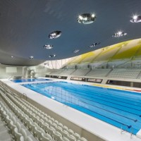 Architecture: London Aquatic Center by Zaha Hadid