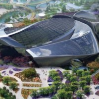 * Architecture: Horticulture Expo Conservatory in Qingdao by HKS