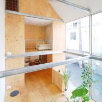 * Residential Architecture: Small house in Shinjuku by Junpei Nousaku Architects