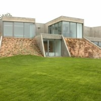 Residential architecture tred avon river house by - Maison riviere tred avon robert m gurney architect ...
