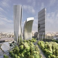 * Architecture: Zaha Hadid Office Tower Citylife Milano