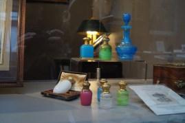 Antique perfume flacons.