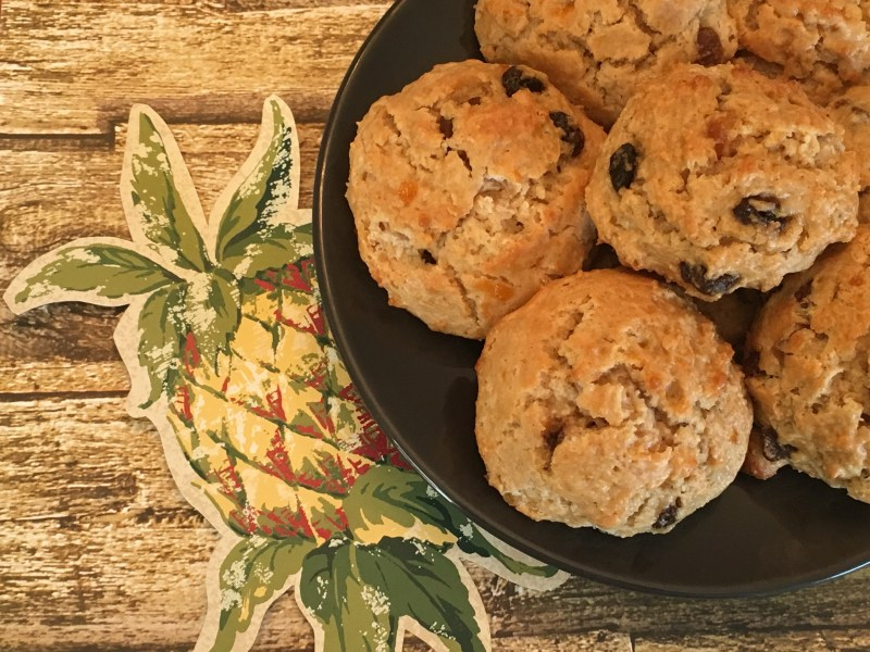 Tropical Fruit Scones