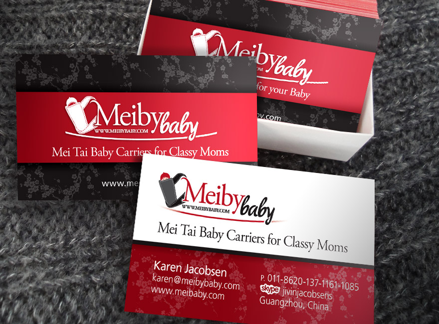Meiby Baby Business Cards - Design & Develop