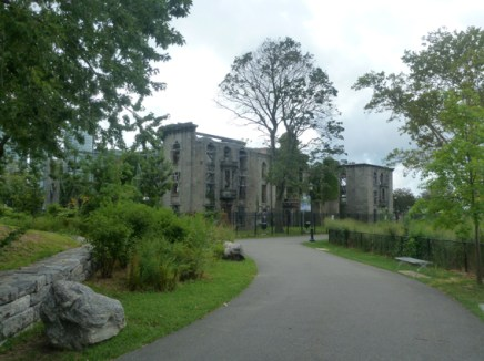 Ruins of a former small pox hospital on Roosevelt Island