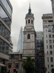 St Magnus the Martyr with The Shard in the background. Hard to believe there was a bridge here once.