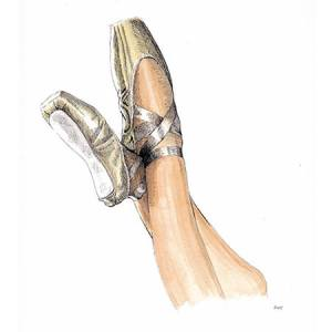 Pointe de ballerine Ballet classique