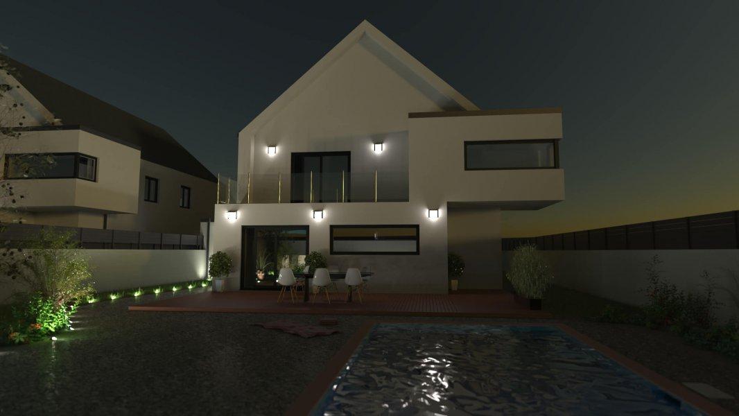 Blog-architecture-modelisation-maison-face-nuit
