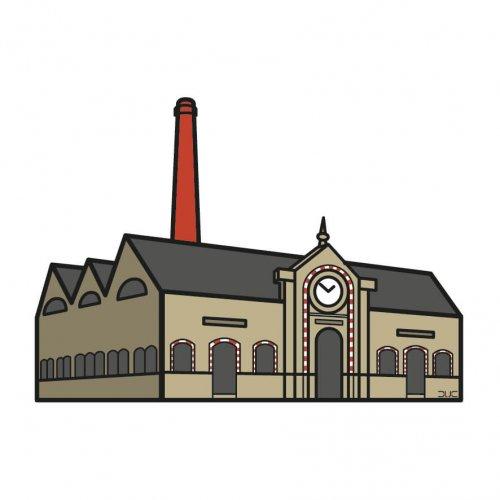 usine élévatoire saint nazaire graphisme logo