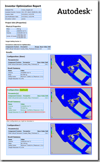 Autodesk Labs Optimization for Inventor Digital Prototyping