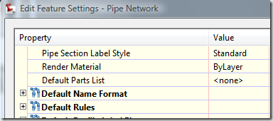 Civil 3D – XML Pipe Import Parts Catalog problem