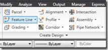 Civil 3D – Quick Grades with Feature Lines