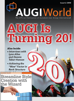 Check me in AUGI World