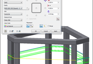 Inventor | Some Quick Tips From A New Project