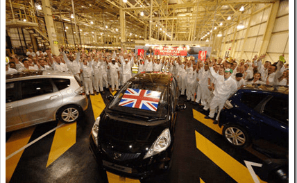 Japan Earthquake Impacts Honda UK Production
