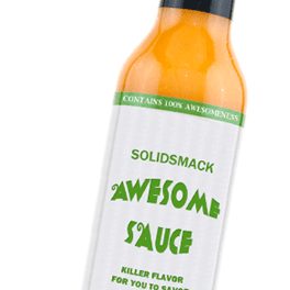 Solidsmack's Awesome Sauce Design Contest