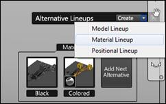 Autodesk Showcase 2012 Create Material Alternative