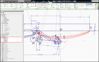 Autodesk Inventor 2012 Sketch Blocks