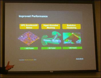 Autodesk Simulation CFD 2013 Improvements