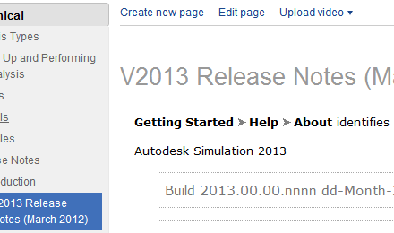 Simulation   2013 Release Notes