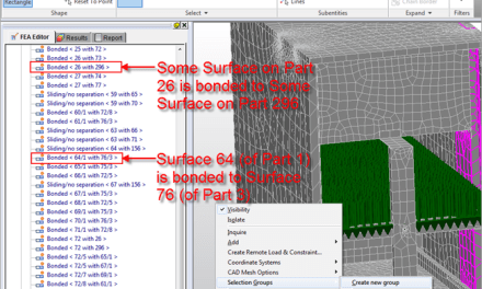 Simulation | Contact Surface Selection Beware