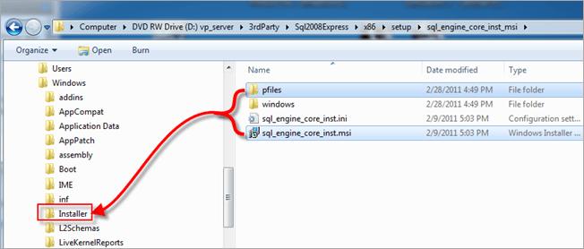 Vault | Error Uninstalling SQL Server 2008
