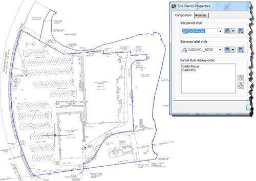 Autodesk AutoCAD Civil 3D 2013 How to Change Site Parcel Style