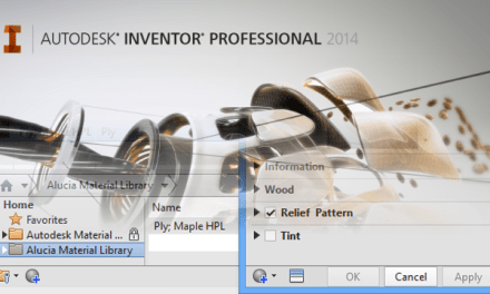 Inventor | Creating Custom Materials & Libraries in 2014