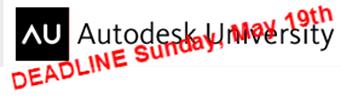 Autodesk University 2013 Speaker Proposal Deadline