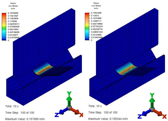 Autodesk Simulation Mechanical Sheet Metal Brake Study