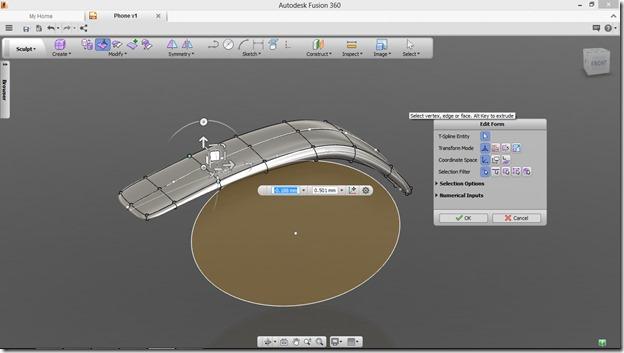 Autodesk Fusion 360 blob