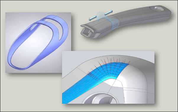 Siemens Solid Edge ST6 Surface Visualization
