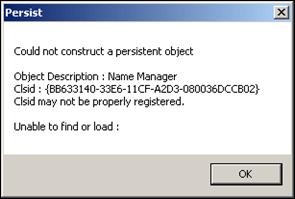 Windows 7 Clsid error message