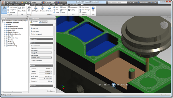 Autodesk Releases HSM Express CAM software Free Download