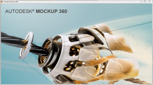 Autodesk Mockup 360 Splash Screen