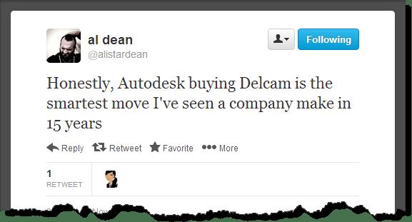 Al Dean's opinion of Autodesk's Delcam Announcement