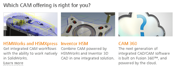 Autodesk CAM solutions