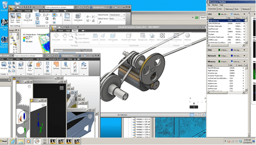 Lenovo ThinkStation D30 handles all CAD/CAE simultaneously