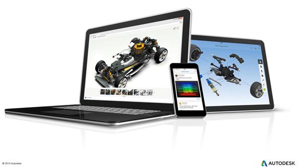 Autodesk 360 Mobile Device