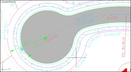 Autodesk AutoCAD Civil 3D End Station Label