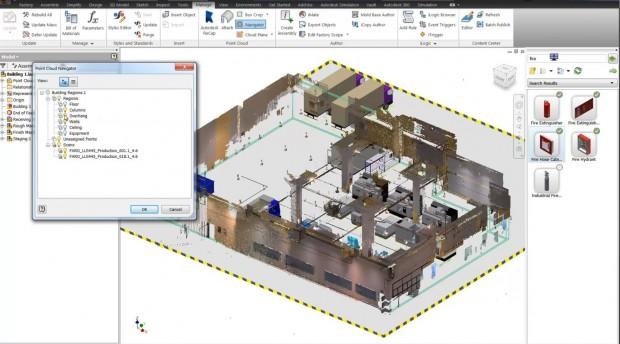 Autodesk Factory Design Suite 2015 Point Clouds