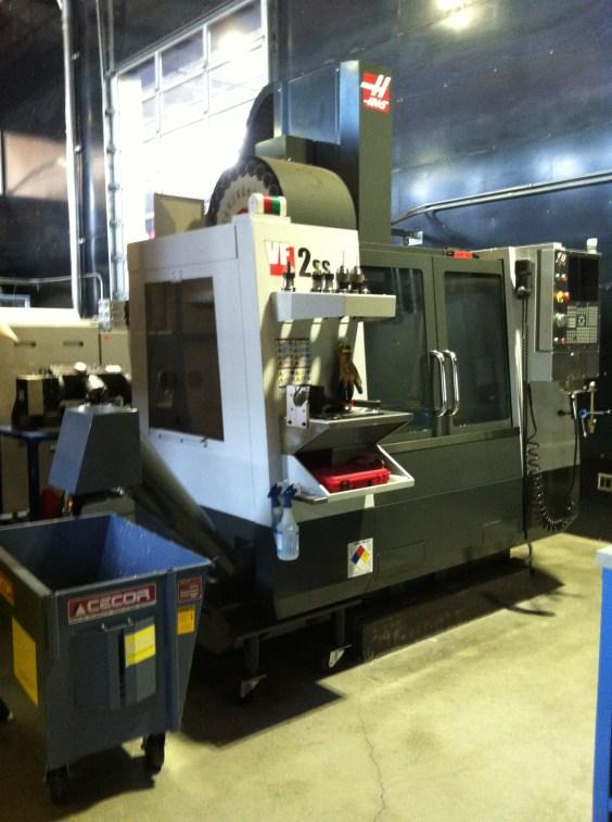 Autodesk Workshop at Pier 9 Haas Machine Center