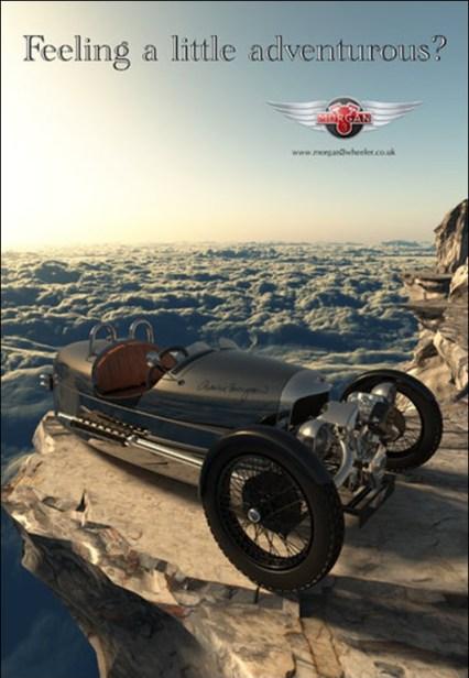 Theo Van Oostrom Morgan Motor Company Ad Contest Entry