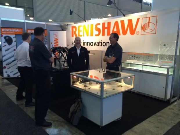 Renishaw Booth