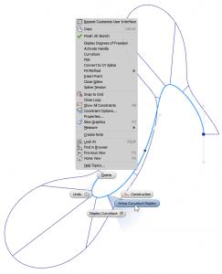Autodesk Inventor 2014 Setup Curvature Display